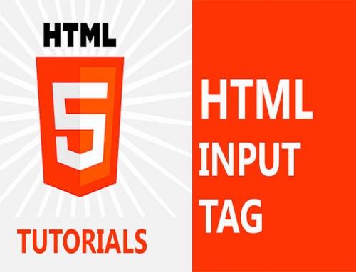 کنترل های HTML5 در تگ input بخش ششم