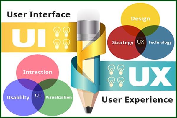 رابط کاربری یا UI چیست user interface طراحی بصری - سایت آموزی