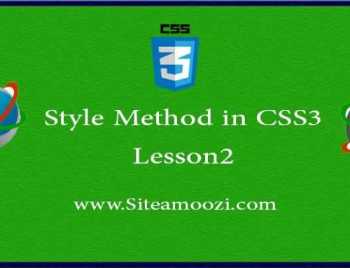 آموزش تصویری CSS3 جلسه دوم