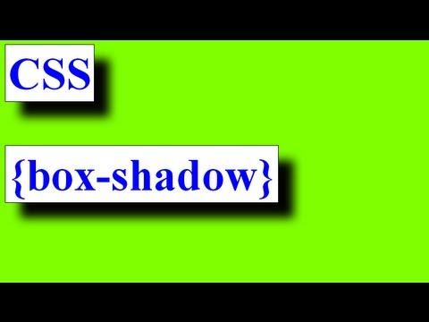 ویژگی box-shadow در css سایه در باکس یا تگ html