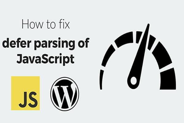 رفع خطای Defer parsing of JavaScript در Gtmetrix   تاخیر جاوااسکریپت