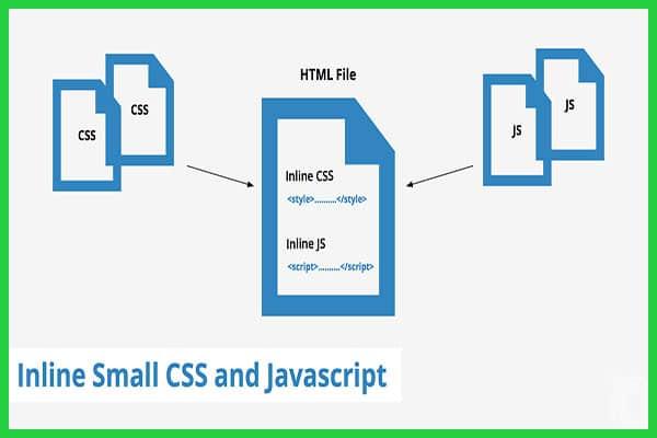 رفع خطای Inline small CSS در gtmetrix | خطای Inline small CSS