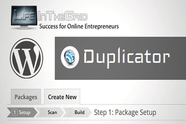 معرفی افزونه duplicator در وردپرس | افزونه داپلیکیتور | نصب duplicator
