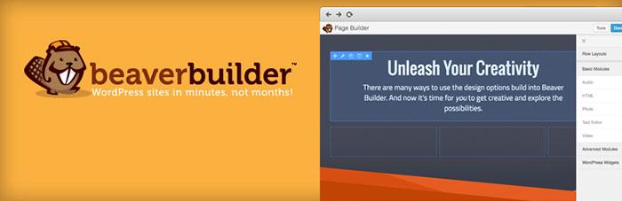 افزونه صفحه ساز Beaver Builder صفحه سازی در وردپرس - سایت آموزی