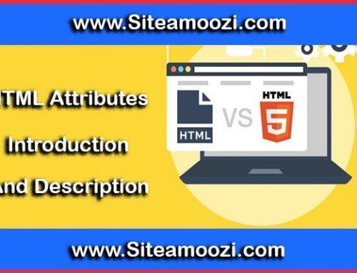 صفت خصوصی width در HTML