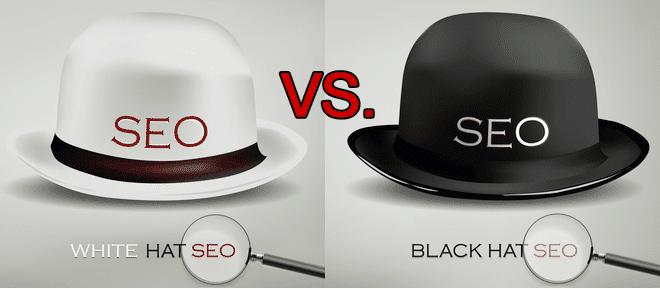 تفاوت سئو کلاه سفید و کلاه سیاه تکنیک های سئو سیاه - سایت آموزی