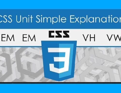 واحدهای اندازه گیری CSS Units
